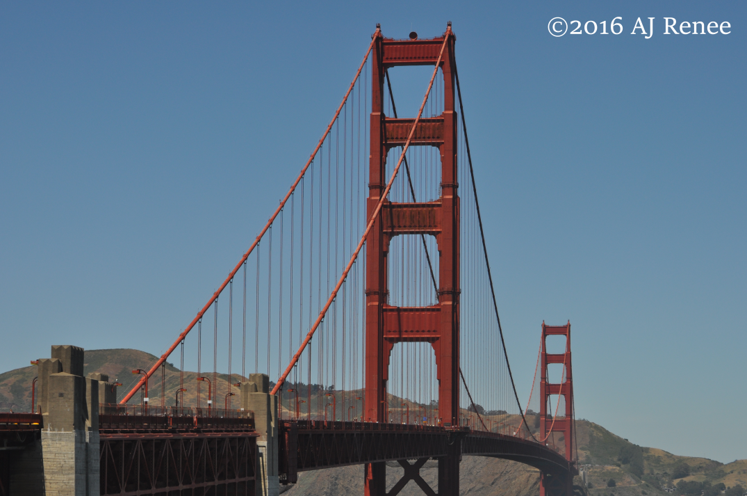 San Francisco Golden Gate Bridge Biking Photography