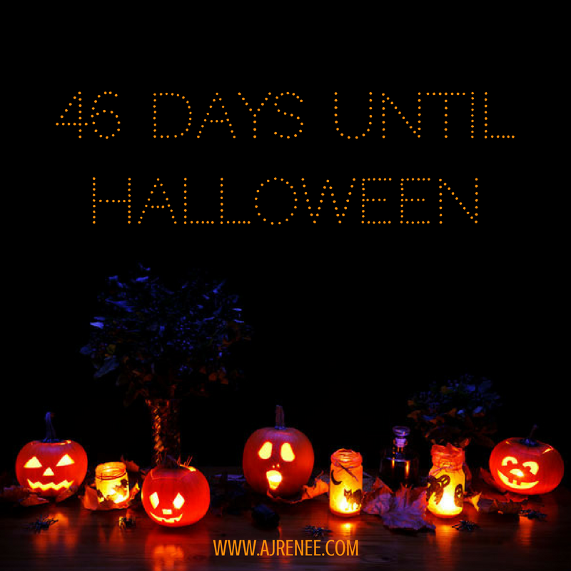 46 days until Halloween AJ Renee #FunFactFriday