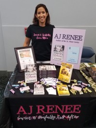 AJ Renee Vegas Library Book Signing Author Signing