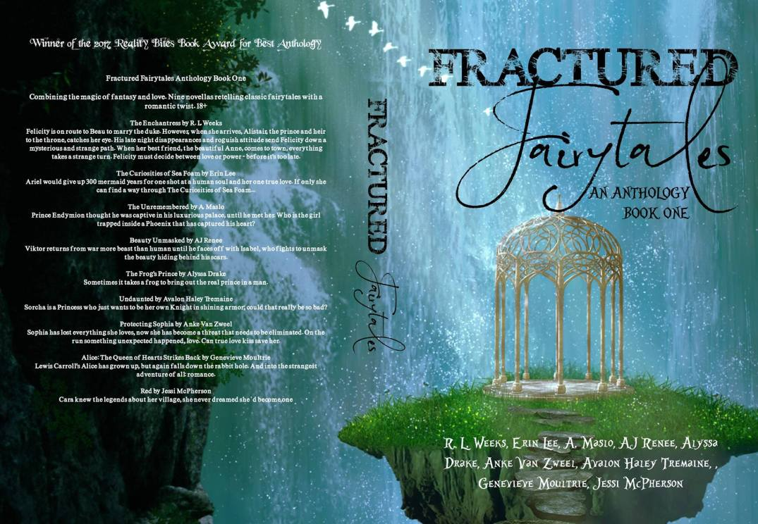 Fractured Fairytales book one paperback