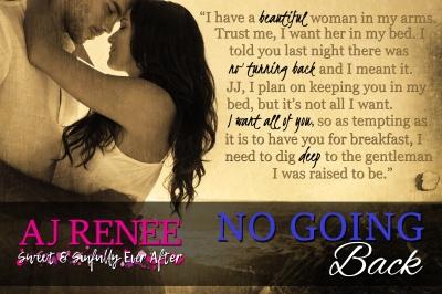 No Going Back AJ Renee #TeaserTuesday