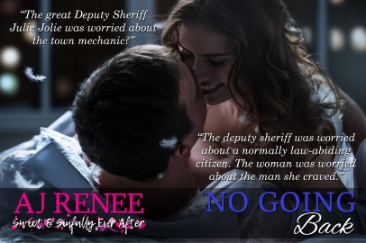 No Going Back St Fleur Series AJ Renee NOLA sexy romance