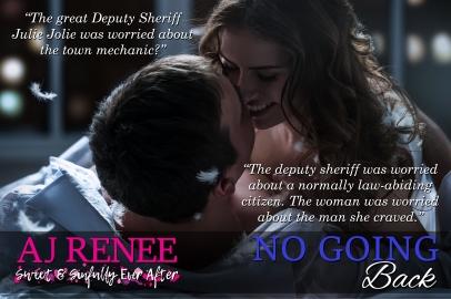 No Going Back St Fleur Series AJ Renee NOLA sexy romance