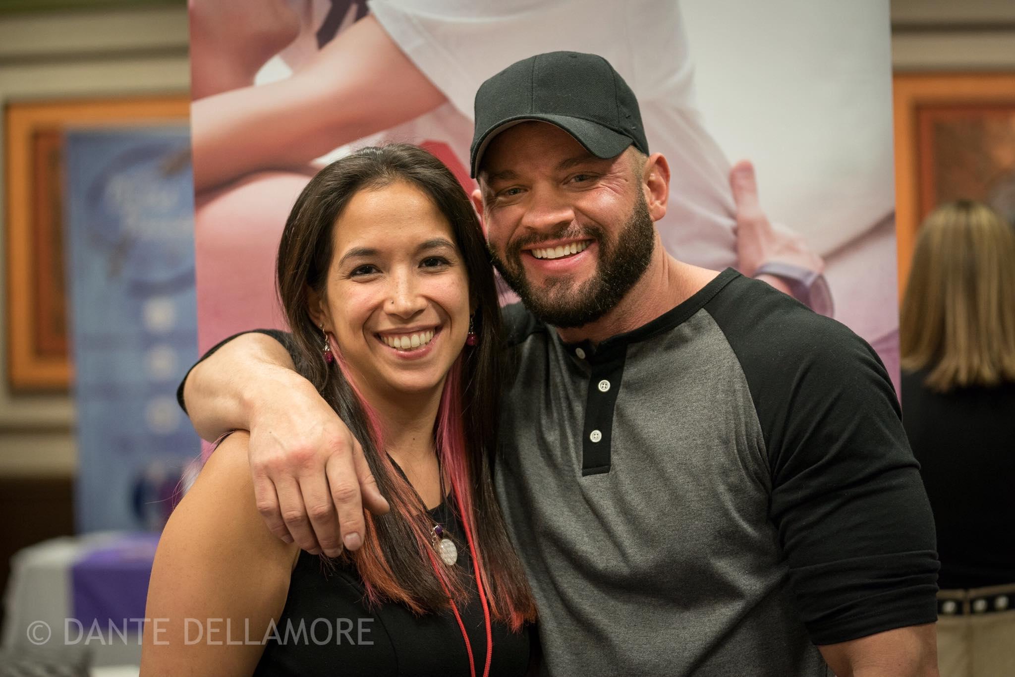 Dante Dellamore AJ Renee Robert Kelly Authors and Dancers against Cancer 2019